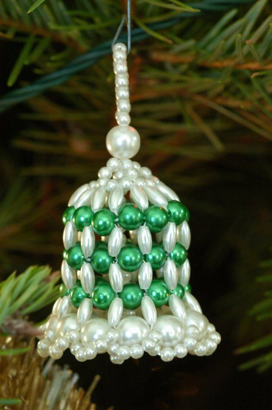 a snowflake housing christmas can make forest beaded easy beads ornament kids