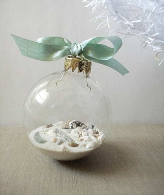 beach themed ornament source - Beach Christmas Ornaments