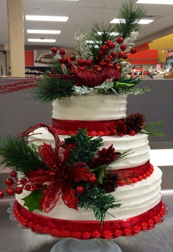 Christmas Cake Centerpiece Source