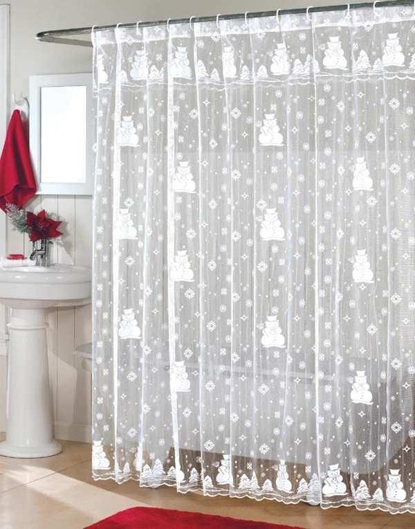 Transparent Christmas Curtain Source