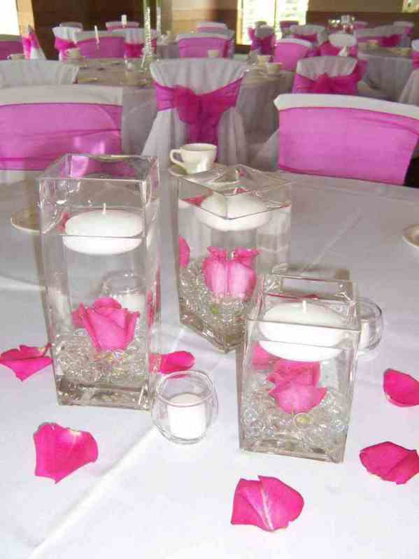 Floating Candle Centerpiece Source