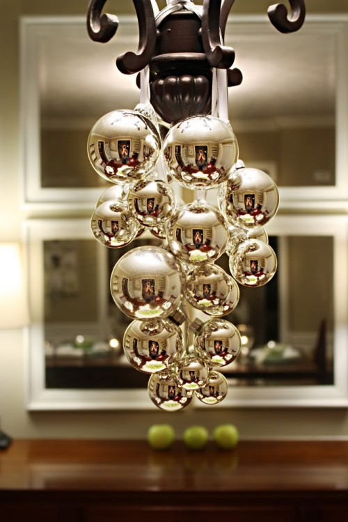Top 40 christmas chandelier decoration ideas christmas celebration source aloadofball Gallery