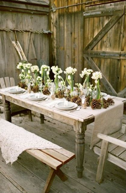 Most Beautiful Outdoor Christmas Table Setting Ideas – Christmas ...