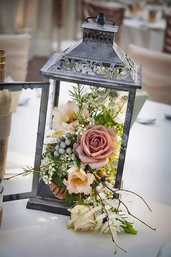 Antique Wedding Centerpiece Source