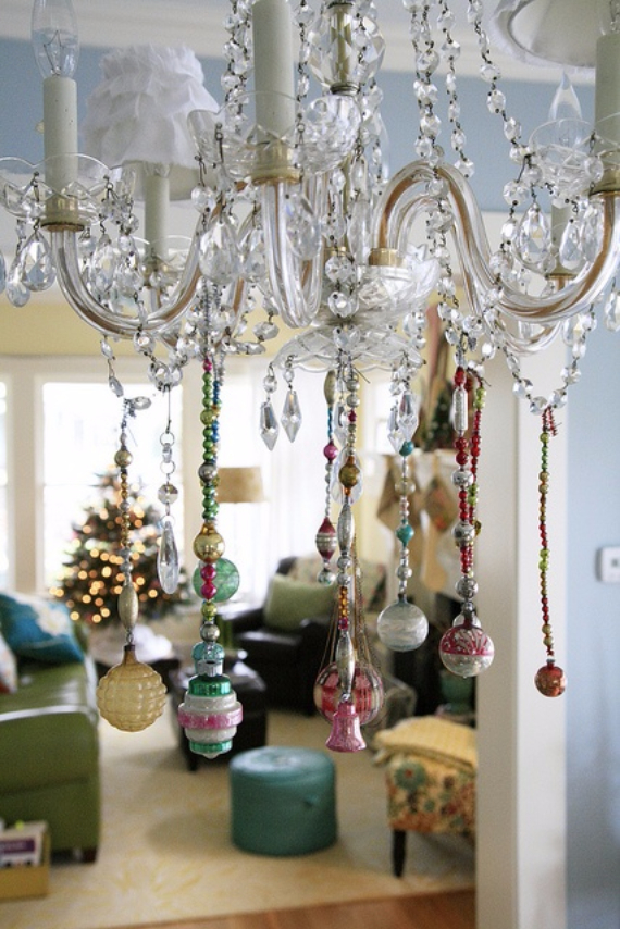 Top 40 Christmas Chandelier Decoration Ideas - Christmas ...