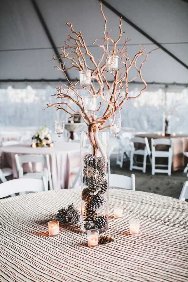 Twigs And Pine Cone Decoration: Source