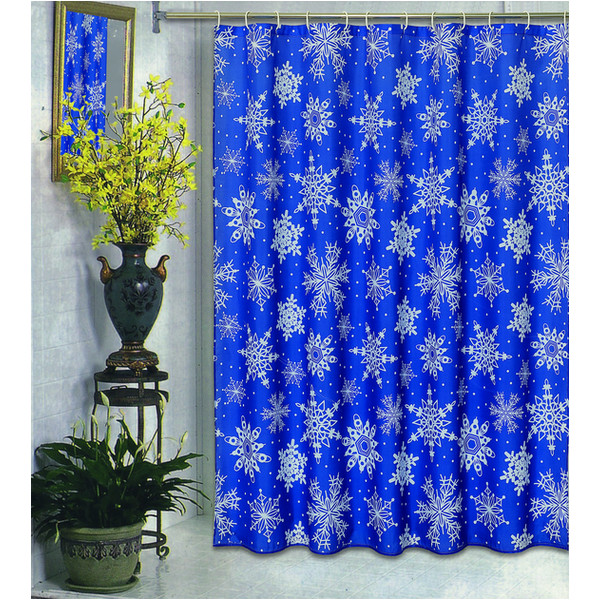 Top 40 Beautiful Designs Of Christmas Bathroom Curtains - Christmas ...