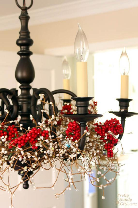 Top 40 christmas chandelier decoration ideas christmas celebration source aloadofball Gallery