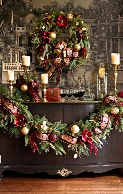 top 40 traditional christmas decoration ideas christmas celebration all about christmas. Black Bedroom Furniture Sets. Home Design Ideas