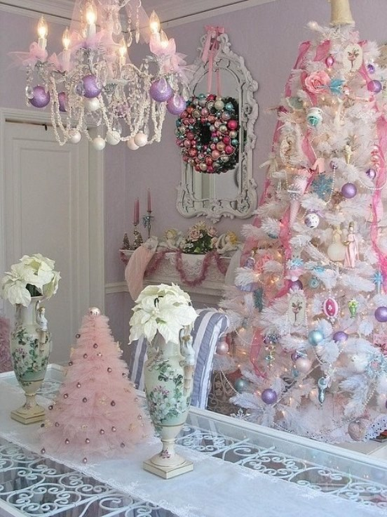 Top 40 Shabby Chic Christmas Decorations – Christmas Celebration ...