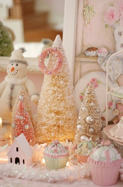 source - Pastel Christmas Decorations