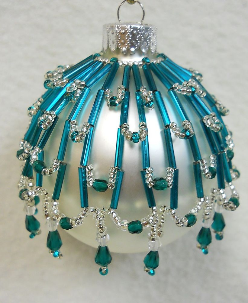 Beaded Christmas Ornaments.Top 40 Beaded Christmas Decorations Christmas Celebration