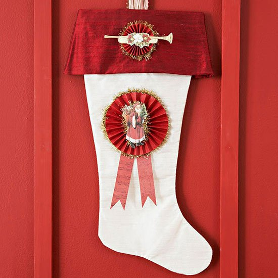 8. Paper Crafted Red & White Boots