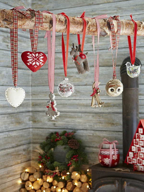 Christmas Decorating Ideas Using Ribbon : Top fascinating christmas decorations using ribbon