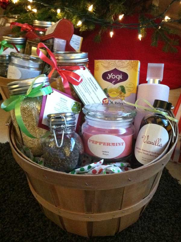 Christmas gift basket ideas for him