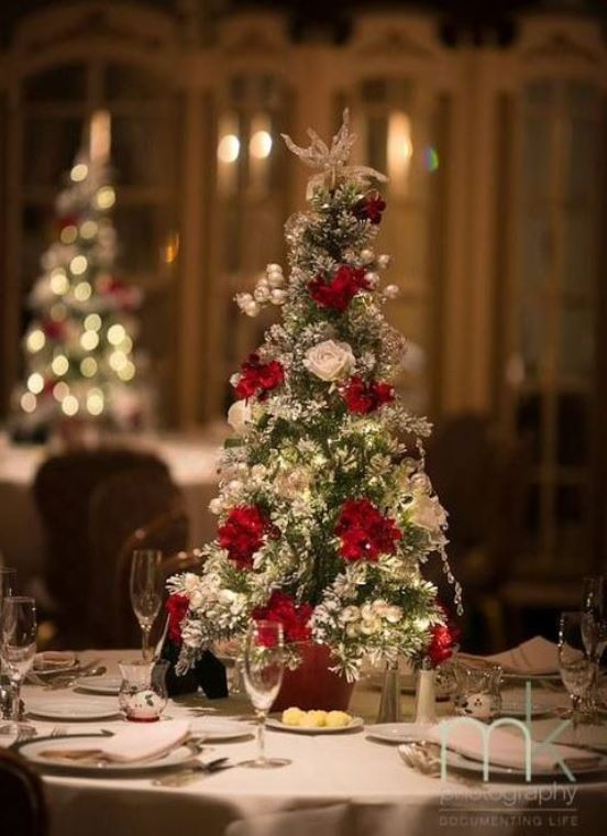 Top 40 Christmas Wedding Centerpiece Ideas
