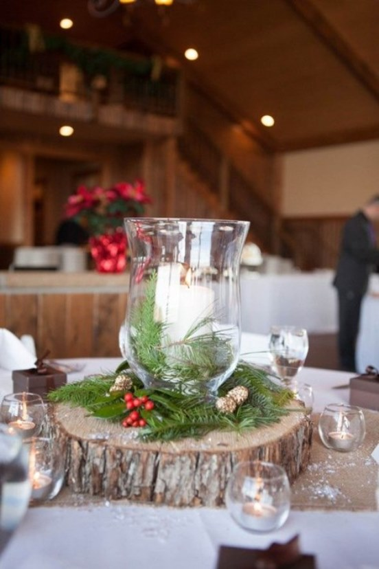 Top 40 christmas wedding centerpiece ideas christmas White christmas centerpieces