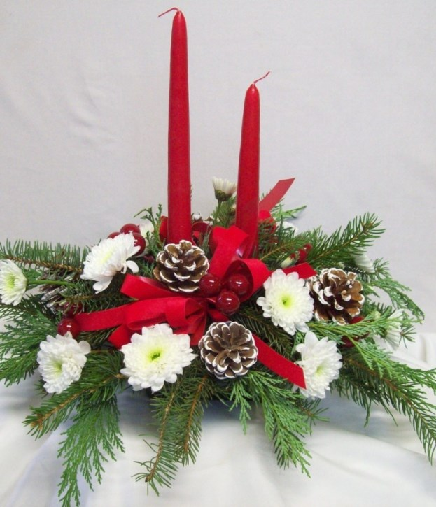Top 40 christmas wedding centerpiece ideas christmas celebration source junglespirit Image collections