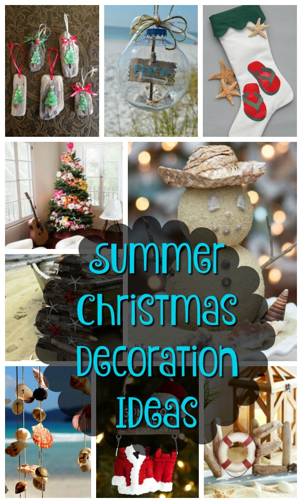 As you summer Christmas decorations are not just the climate, even their decorating ideas are very different. They do not opt for traditional pinecones and ...