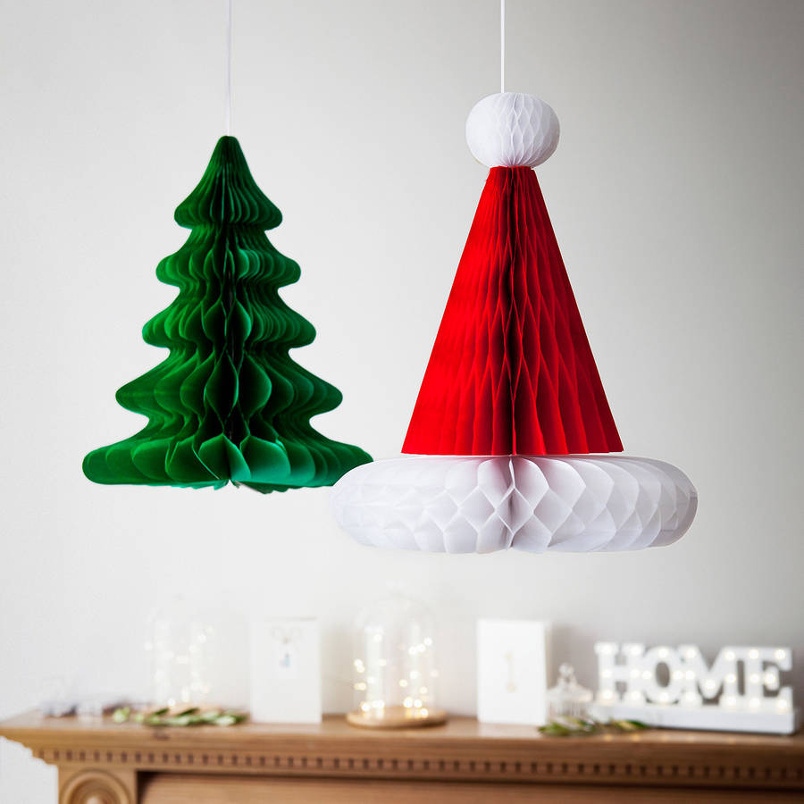 This vibrant duo Christmas decoration will add a dash of festivity to any  room you put. Just ensure that they are away from flames or fire.