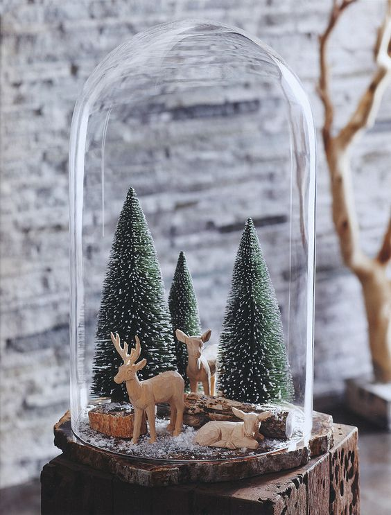 winter wonderland snowglobe