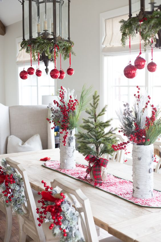 add a wow factor - Hanging Christmas Decorations
