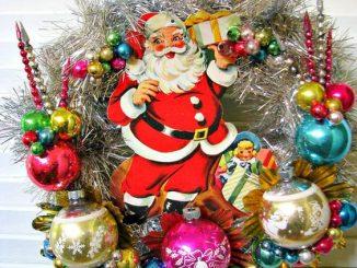 30 Chic Retro Christmas Decoration Ideas - Christmas Celebration ...