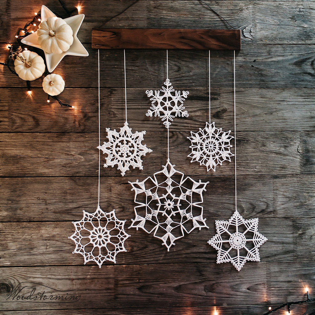 Decoration Ideas: Snowflake Christmas Decoration Ideas