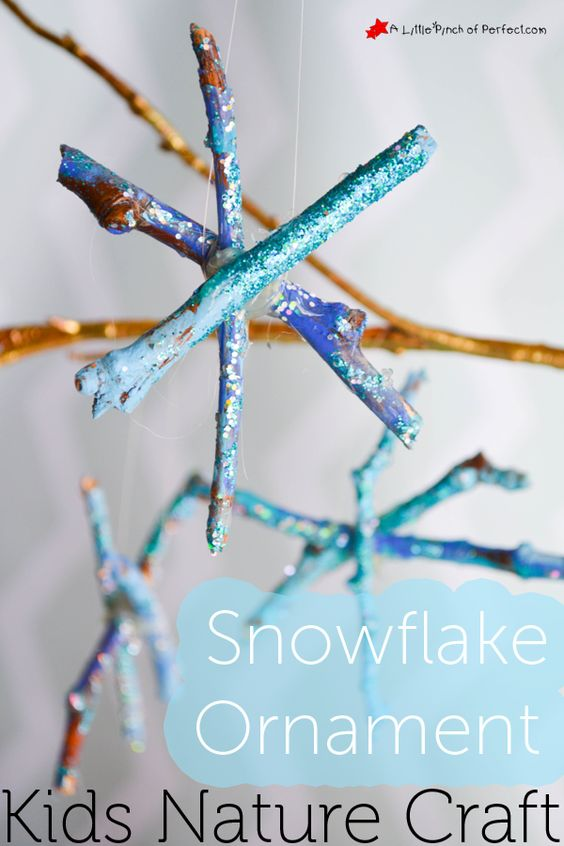Snowflake christmas decoration ideas christmas for Winter holiday crafts for kids