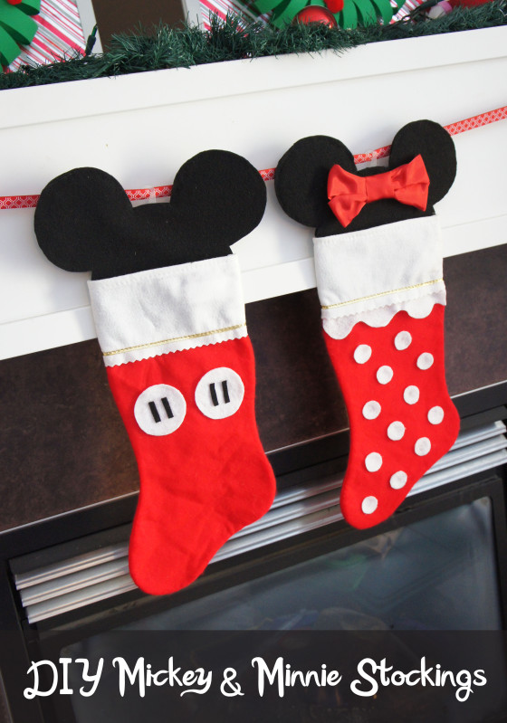 mickey and minnie stockings