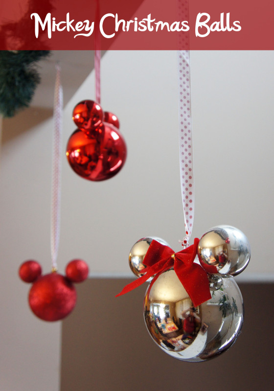 mickey christmas balls - Mickey And Minnie Christmas Decorations