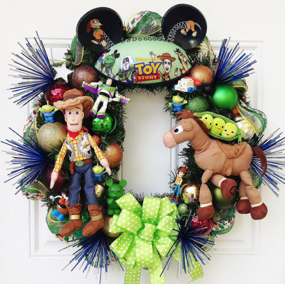 in accepting that toy story is one of my favorite movies and i would watch it a plethora of times even today so im surely getting this wreath