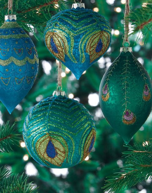 ... which you may use to decorate your Christmas tree. It has the right amount of details and coloring to transform your Christmas tree into a peacock.