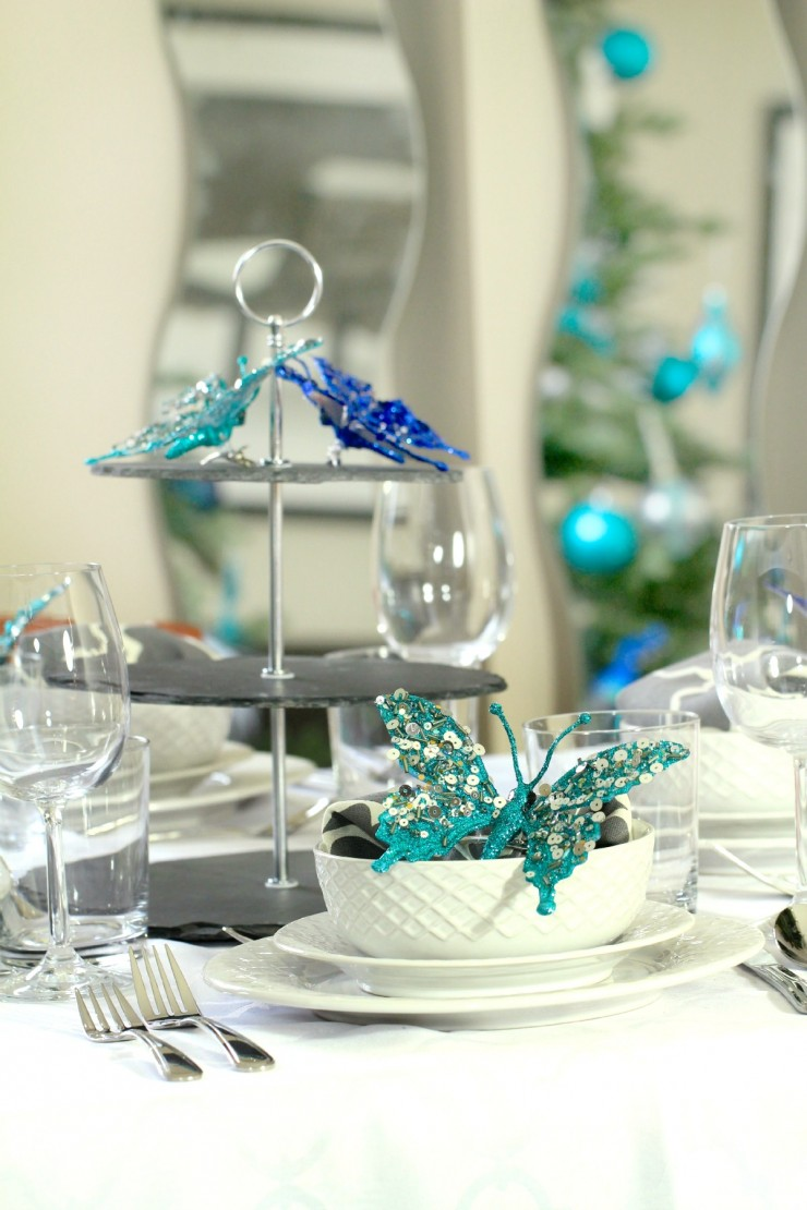 26 beautiful teal christmas decoration ideas christmas celebration all about christmas - Teal And Silver Christmas Decorations