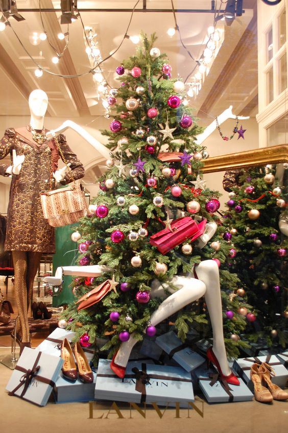 27 unique christmas decoration ideas for stores - Unique Christmas Decorating Ideas
