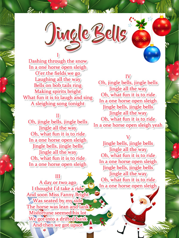 jingle bells lyrics