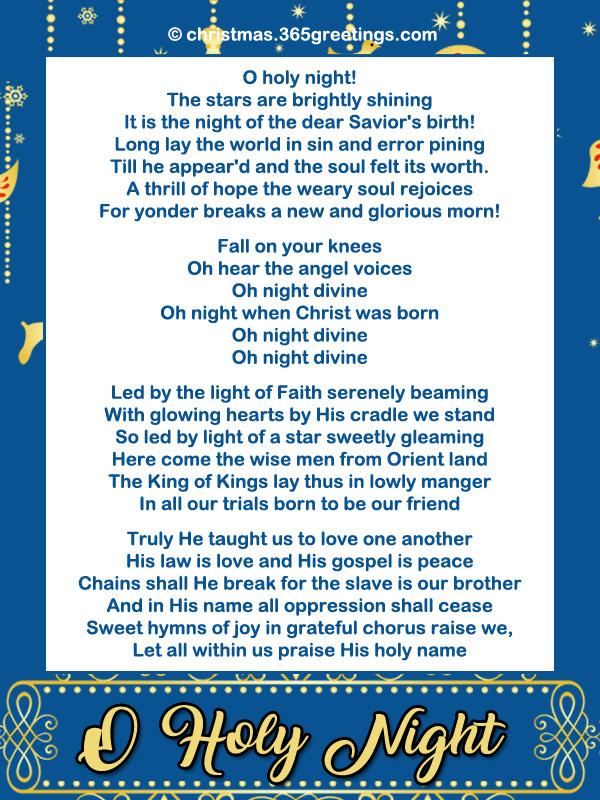 Light Of Christmas Lyrics.Popular Christmas Carols Christmas Celebration All About