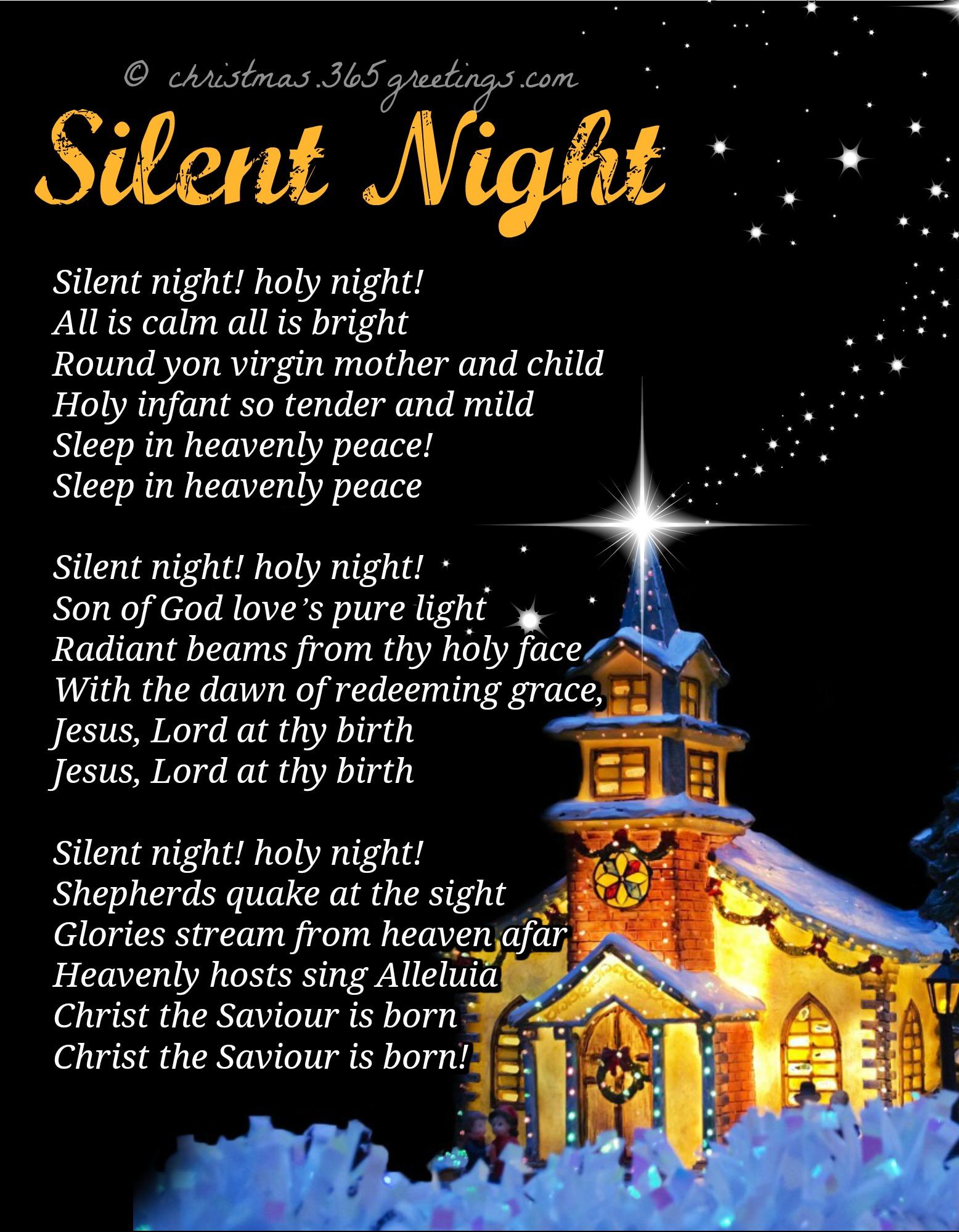 List Of Christmas Carols Christmas Celebration All About Christmas