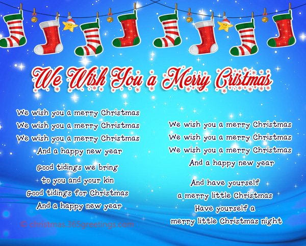 we wish you a merry christmas lyrics - I Ll Have A Blue Christmas Lyrics