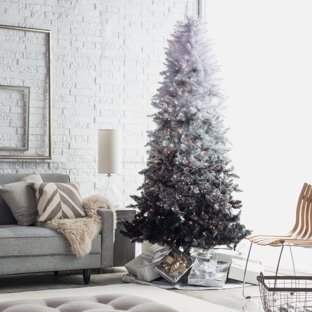 Gorgeous Black Christmas Tree Decoration Ideas