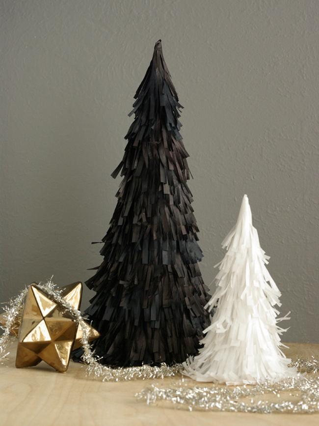 Black Christmas Tree Decoration Ideas