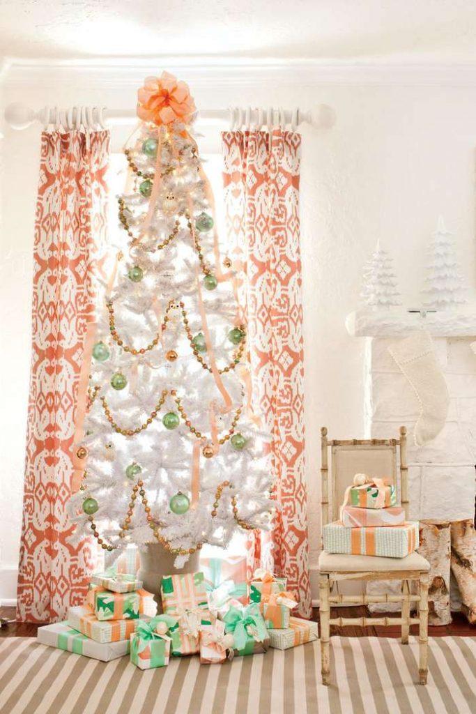 Unique christmas tree stand decoration ideas