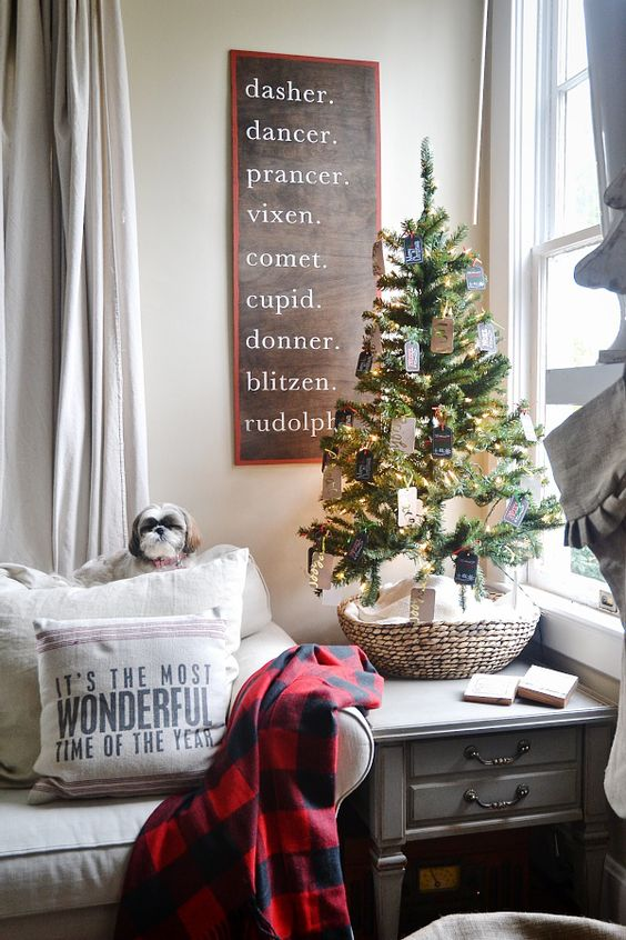 windowsill makes perfect placement of the mini christmas trees if your window does not have enough space you can place it on the bedside table