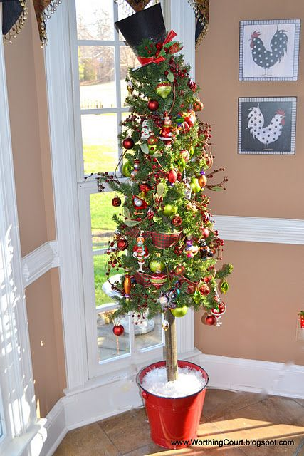 Pencil Slim Christmas Tree