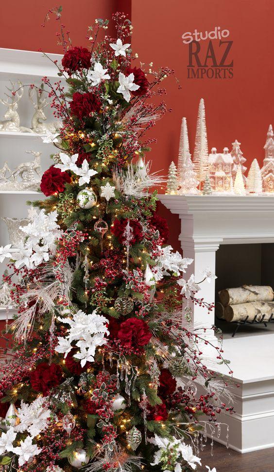 Stunning Slim Christmas Tree Decorations - Christmas Celebration ...