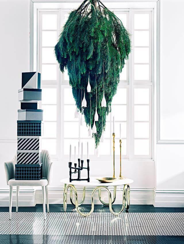 30 Beautiful Upside Down Christmas Tree Ideas - Christmas ...