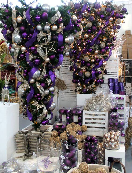 So if you want to spread some royal cheer in your house, go for this  remarkable upside down Christmas tree idea. Just for the information, ... - 30 Beautiful Upside Down Christmas Tree Ideas - Christmas