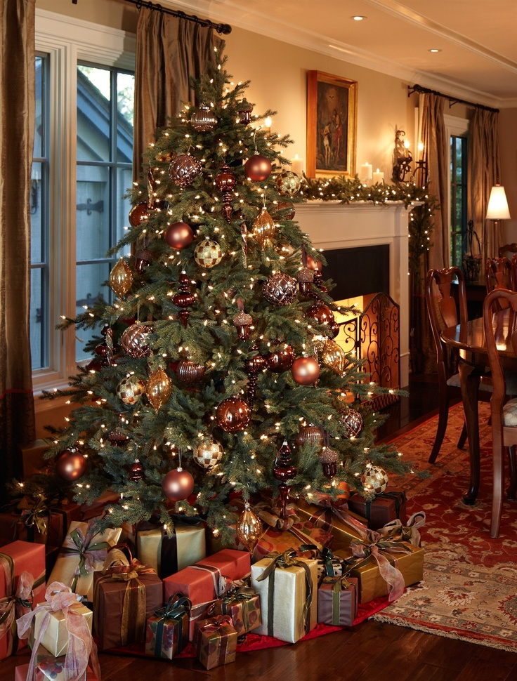 Classic Christmas Tree Decorating Ideas
