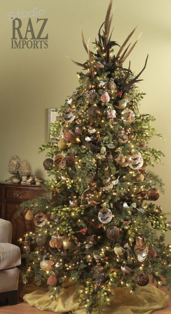 Perfectly Decorated Christmas Tree