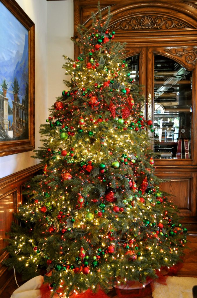 Image result for victorian christmas trees
